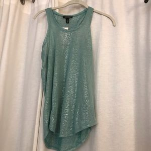 Jessica Simpson Shimmer Halter Tank -NEW with tags